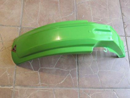 Blatník přední - zelený (Jawa Tramp, ČZ 180 Roland)
