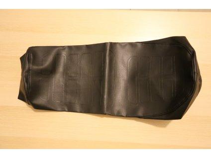 Potah sedla - černý, hladký (ČZ 350)