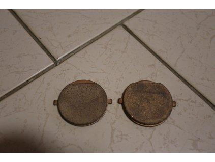 Destičky brzdové - sada ( Jawa 639-640 ) orig. 1990-1996
