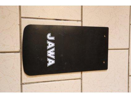 Zástěrka blatníku - nápis JAWA (Jawa 638,639) hladká