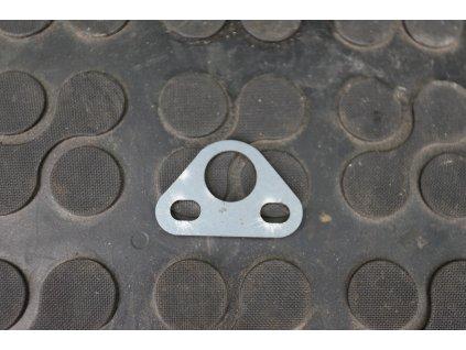 Držák výfuku holý k navaření - levý (kývačka, panelka)