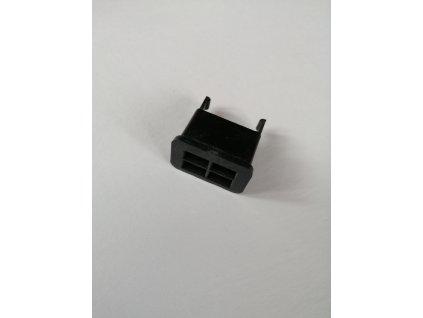 Zásuvka na 4 kolíky plast, originál - Jawa,ČZ 638-640, 487, 472