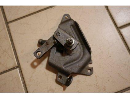 Poloautomat - držák s páčkami úplný (Jawa, ČZ - 125, 175) orig. Mototechna