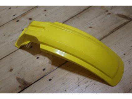Blatník přední - žlutý (Jawa Tramp, ČZ 180 Roland)