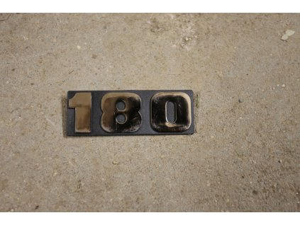 Tabulka 180 (černá)