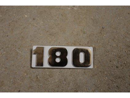Tabulka 180 (šedá)