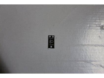 Samolepka - ovládání náklonu světlometu (Jawa 640, Čz 180)