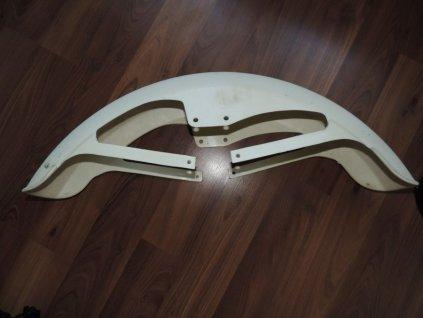 Blatník přední  (Jawa 638 - bílý)