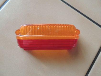 Kryt zadní lampy - červeno oranžový ( PAV,ČZ )