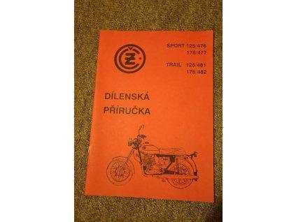Příručka dílenská (ČZ 125/476, 481, 175/477, 482)