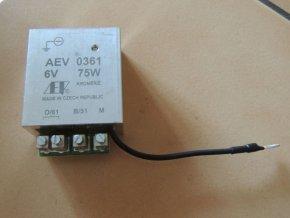 Regulátor 6V 75W - pol AEV 010586