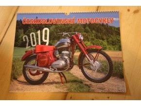Kalendář 2019 - Československé motocykly 420x315