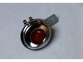 Klakson 6v, černý průměr 70 mm