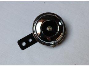 Klakson 12V, černý průměr 70 mm
