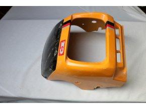 Kapotáž přední se štítkem (99999999 - žlutá)