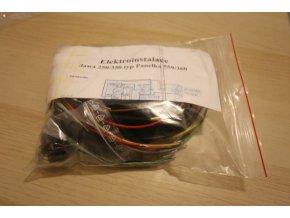 Elektroinstalace (Panelka 250, 350)