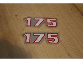 Samolepky ČZ - sada 175