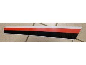 Nálepka pravá přední (červeno-černo-bílá)