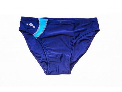 Pánské slipové plavky - modré
