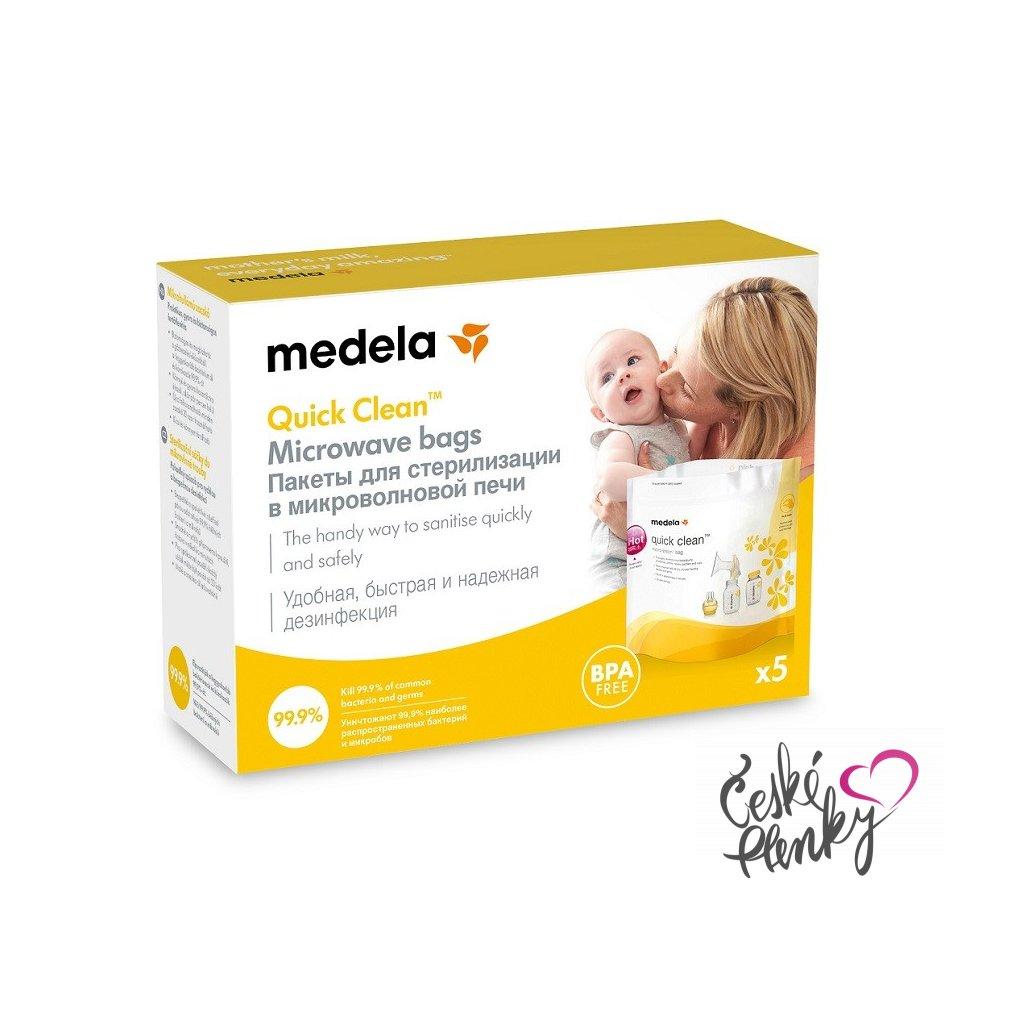 medela sterilizacni sacky quick clean 1