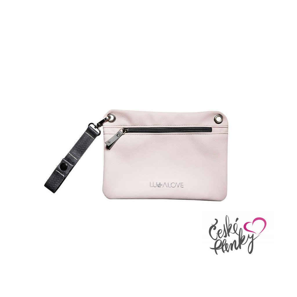 Malá kabelka pře rameno Světlé růžová