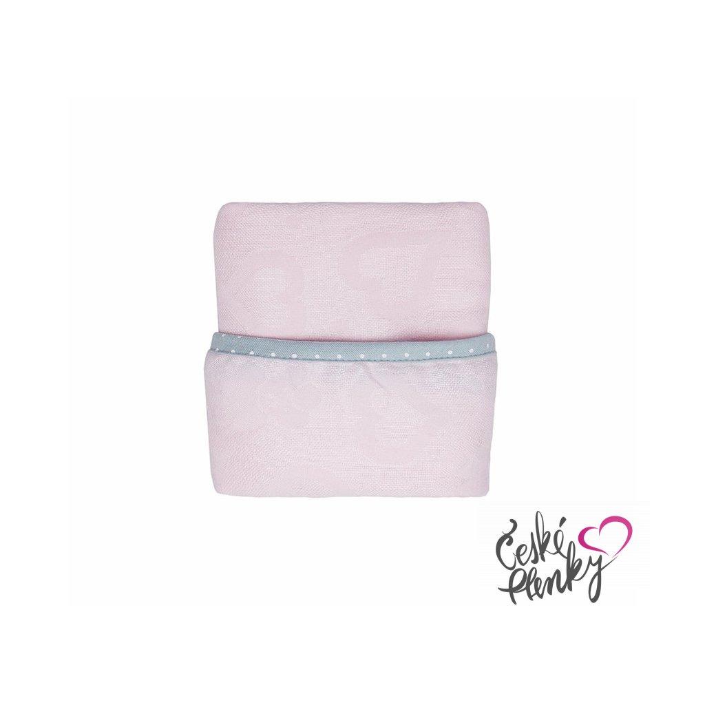 Novorozenecká deka supeRRO Růžová
