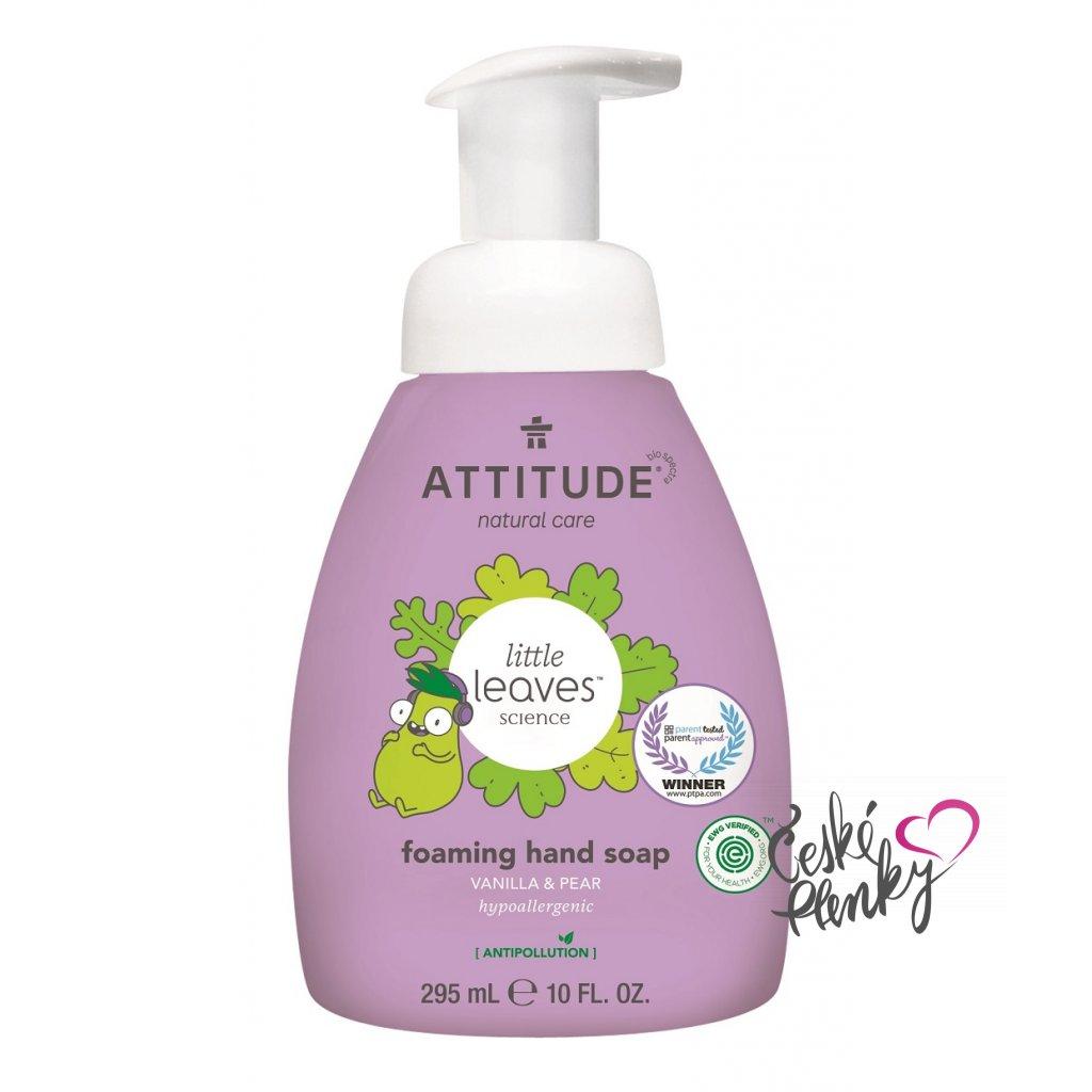 attitude mydlo ruce vanilka