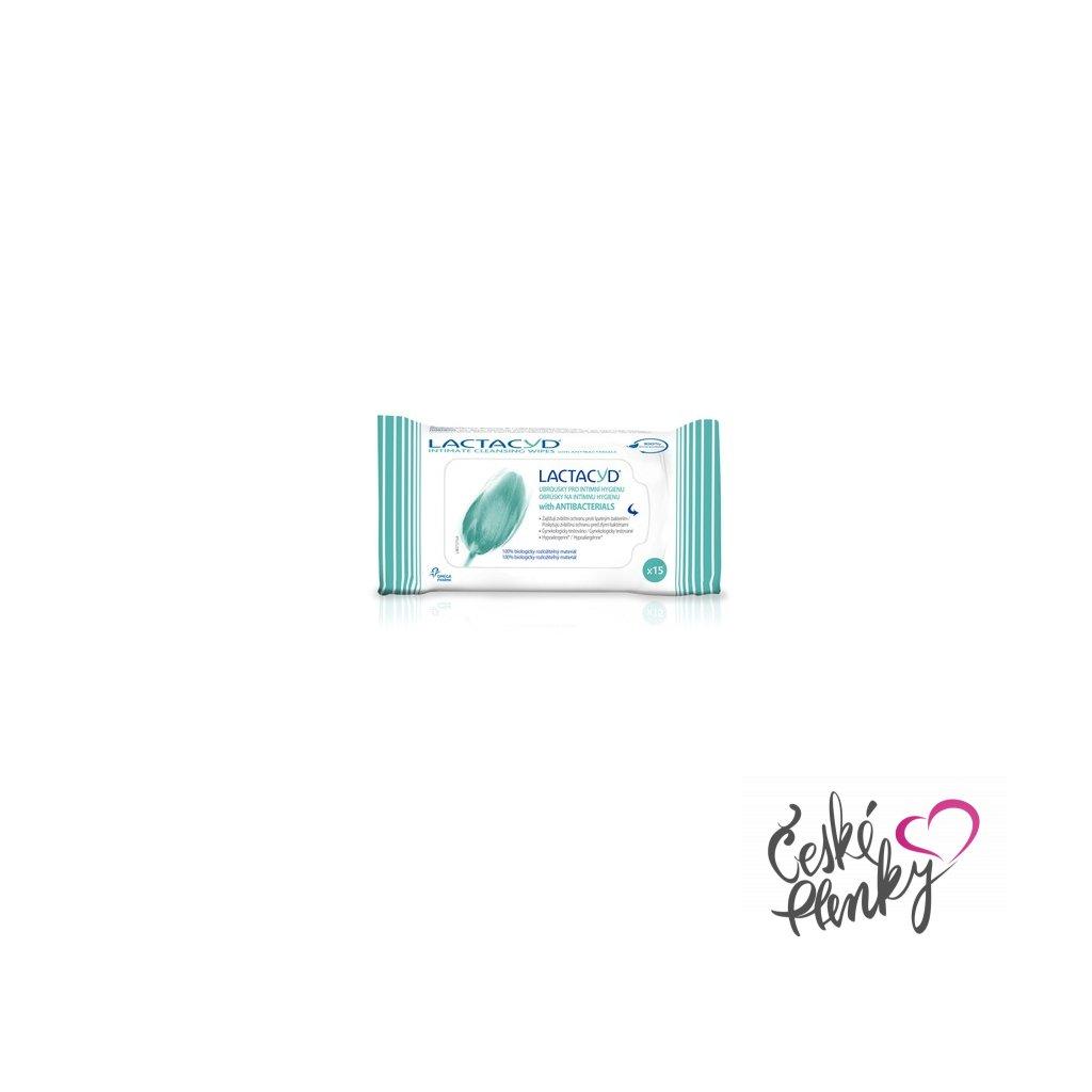 4172 lactacyd antibakterialni ubrousky pro intimni hygienu 15 ks