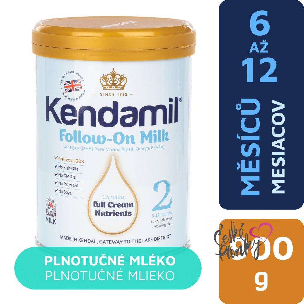 Kendamil pokracovaci mleko 900g 5056000500076