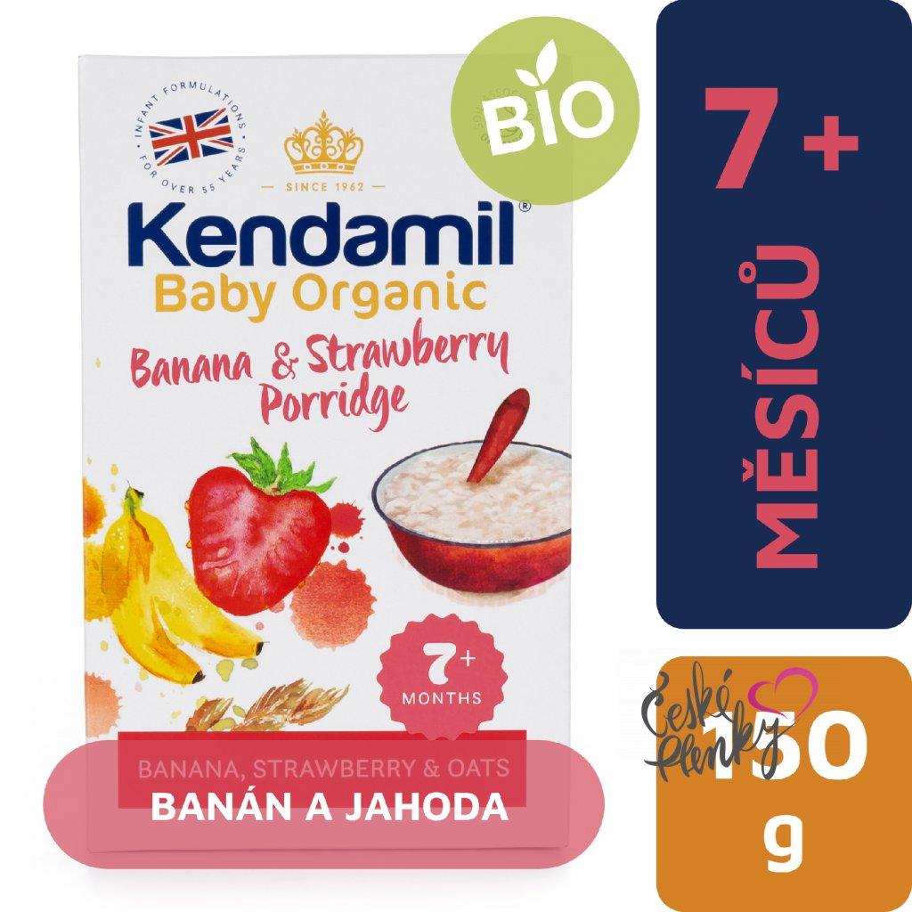 CZ Kendamil Kase Organic Banan Jahoda 1x 5056000501271