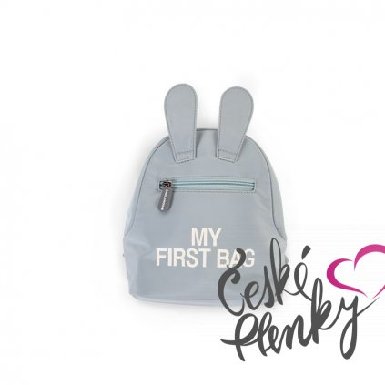 3377 childhome detsky batoh my first bag grey