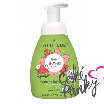 attitude mydlo ruce meloun