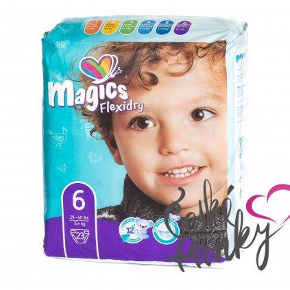 Magics Flexidry velikost 6(XL) , 15+ kg, 23 ks