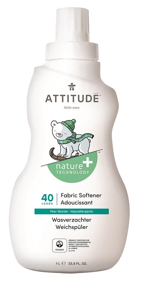 Aviváž pro děti ATTITUDE s vůní hruškové šťávy 1000 ml (40 pracích dávek)