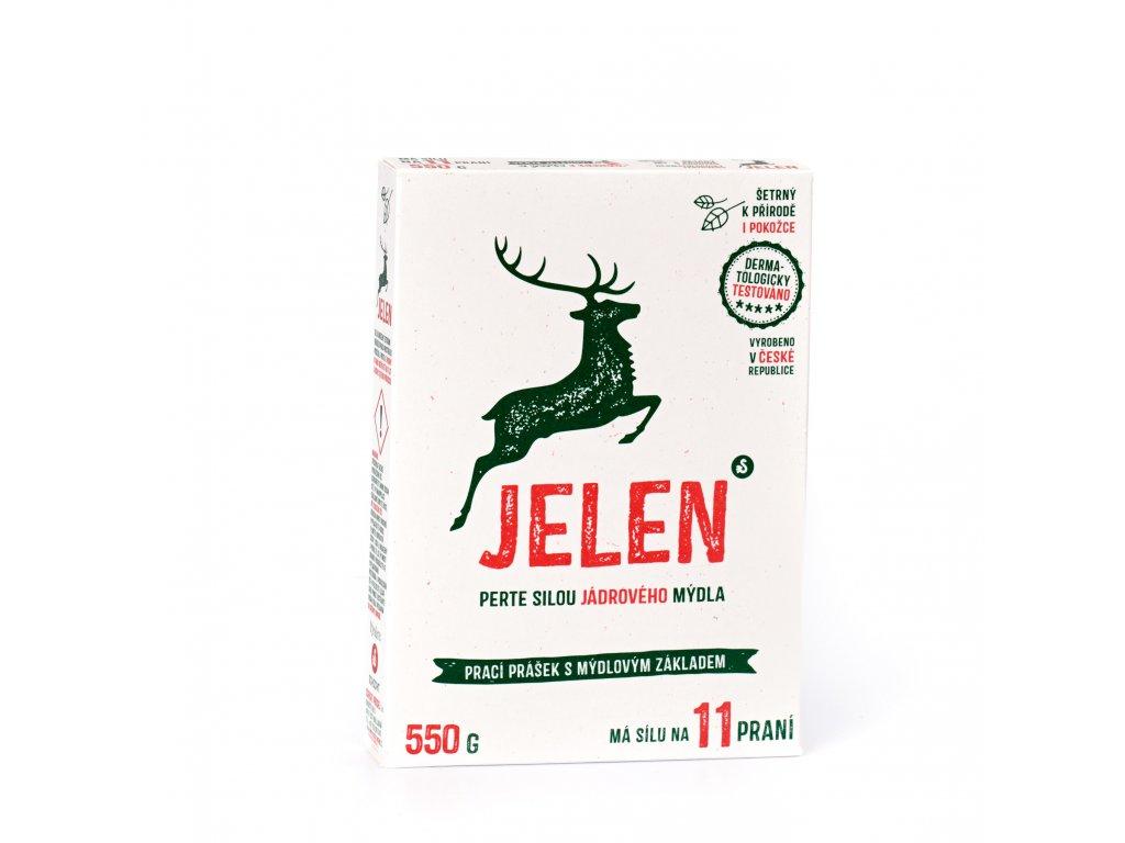 SCHICHT Jelen mýdlový prací prášek 550 g