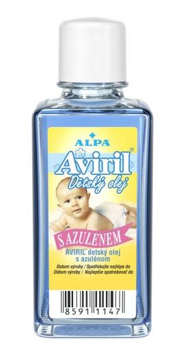 Alpa Aviril dětský olej s azulenem 50 ml