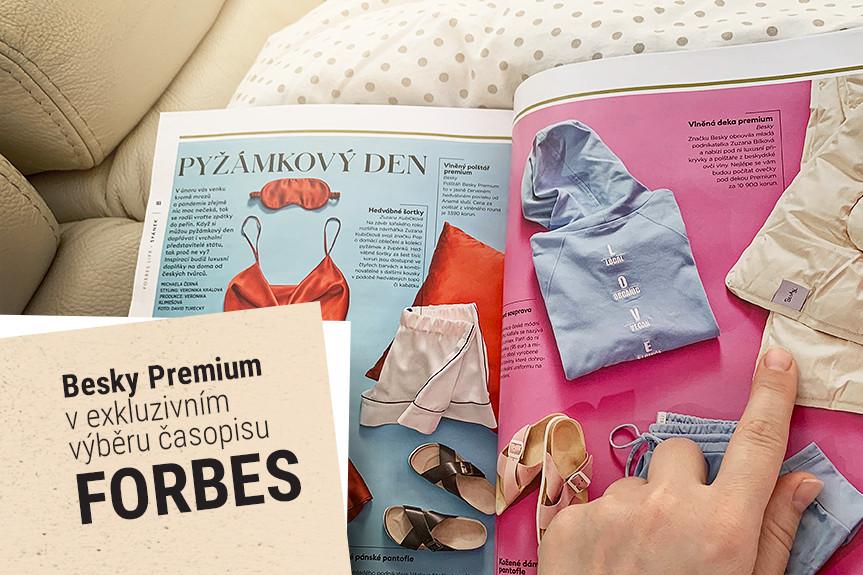 Besky Premium ve Forbesu