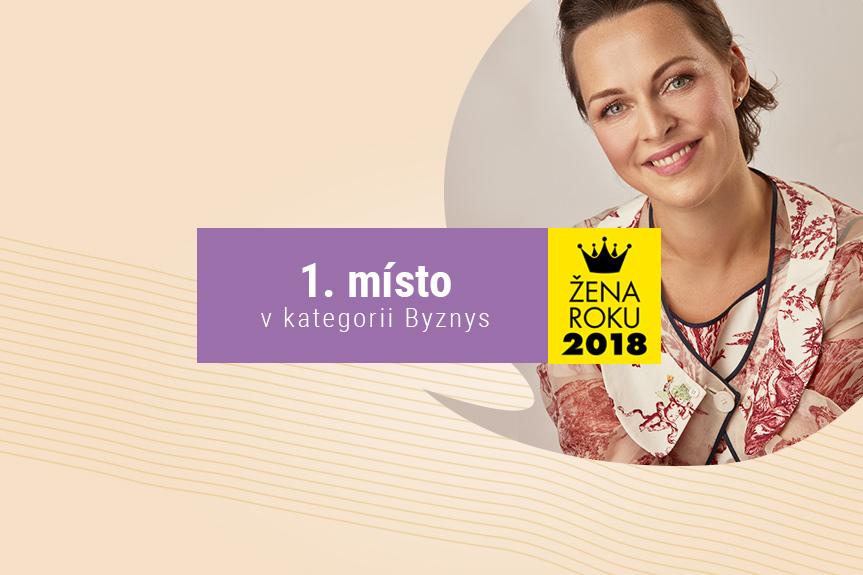 Žena roku 2018 — 1. místo