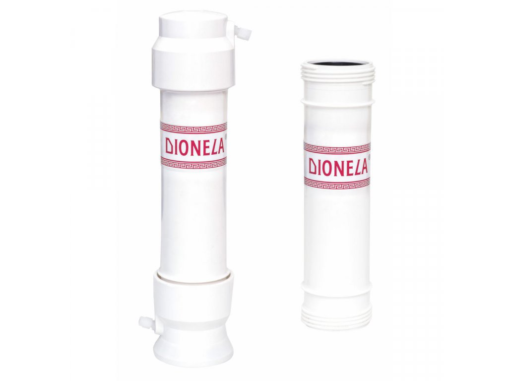 Výhodný komplet Dionela FTK3 pod kuchyňskou linku včetně náhradní filtrační vložky V3 + souprava na stanovení tvrdosti Tp10