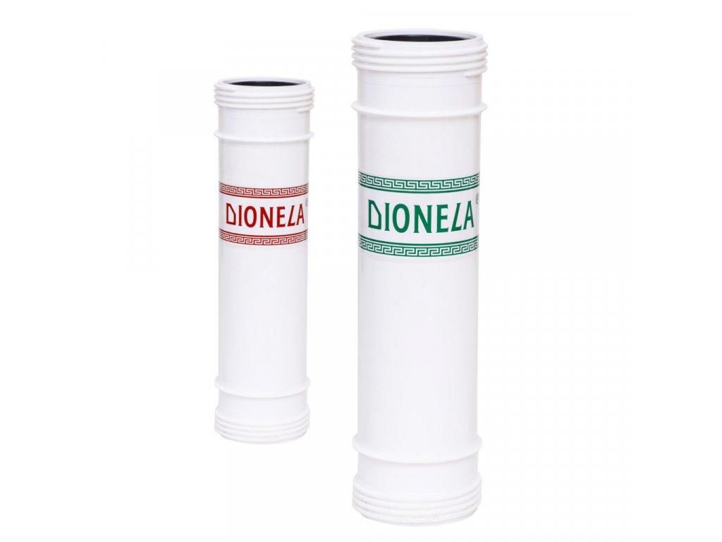 Záměna filtrační vložky Dionely FTK3 za filtrační vložku Dionely FDN2