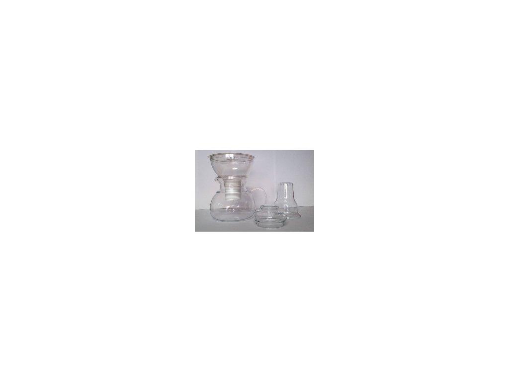 Nádobový filtr Oasa (čirá) s filtrační vložkou i na dusičnany