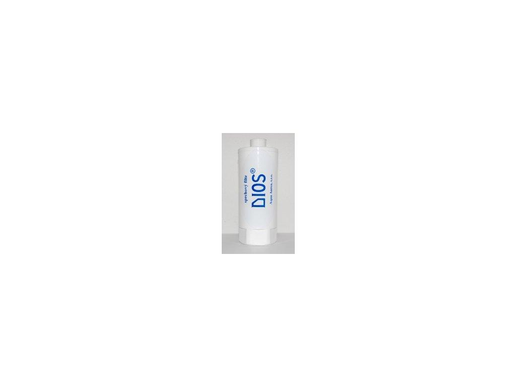Regenerace bílého sprchového filtru DIOS
