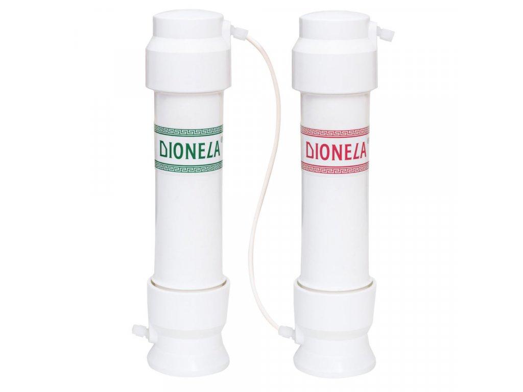 """DIONELA F2-3DUO (""""i na dusičnany, i na přechodnou tvrdost"""", pod kuchyňskou linku) + souprava na stanovení dusičnanů N10 + souprava na stanovení tvrdosti Tp10"""