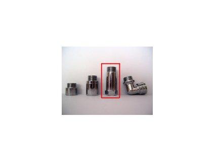 Prodloužení ke sprchovému filtru delší (chrom, 50mm)