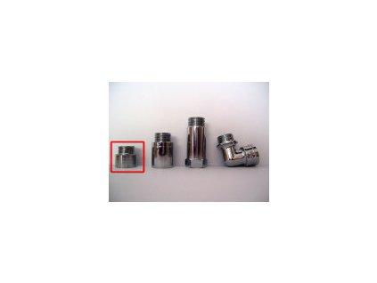 Prodloužení ke sprchovému filtru krátké (chrom, 15mm)