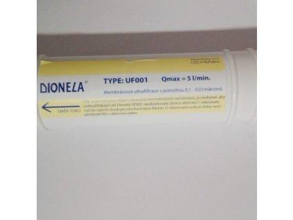 Dionela UF001 – ultrafiltrace s porozitou 0,01 µm