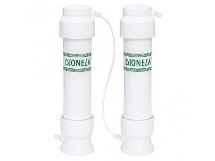 """DIONELA F2DUO (""""i na dusičnany"""", pod kuchyňskou linku, s 2,4krát vyšší kapacitou než DIONELA FDN2) + souprava na stanovení dusičnanů N10"""