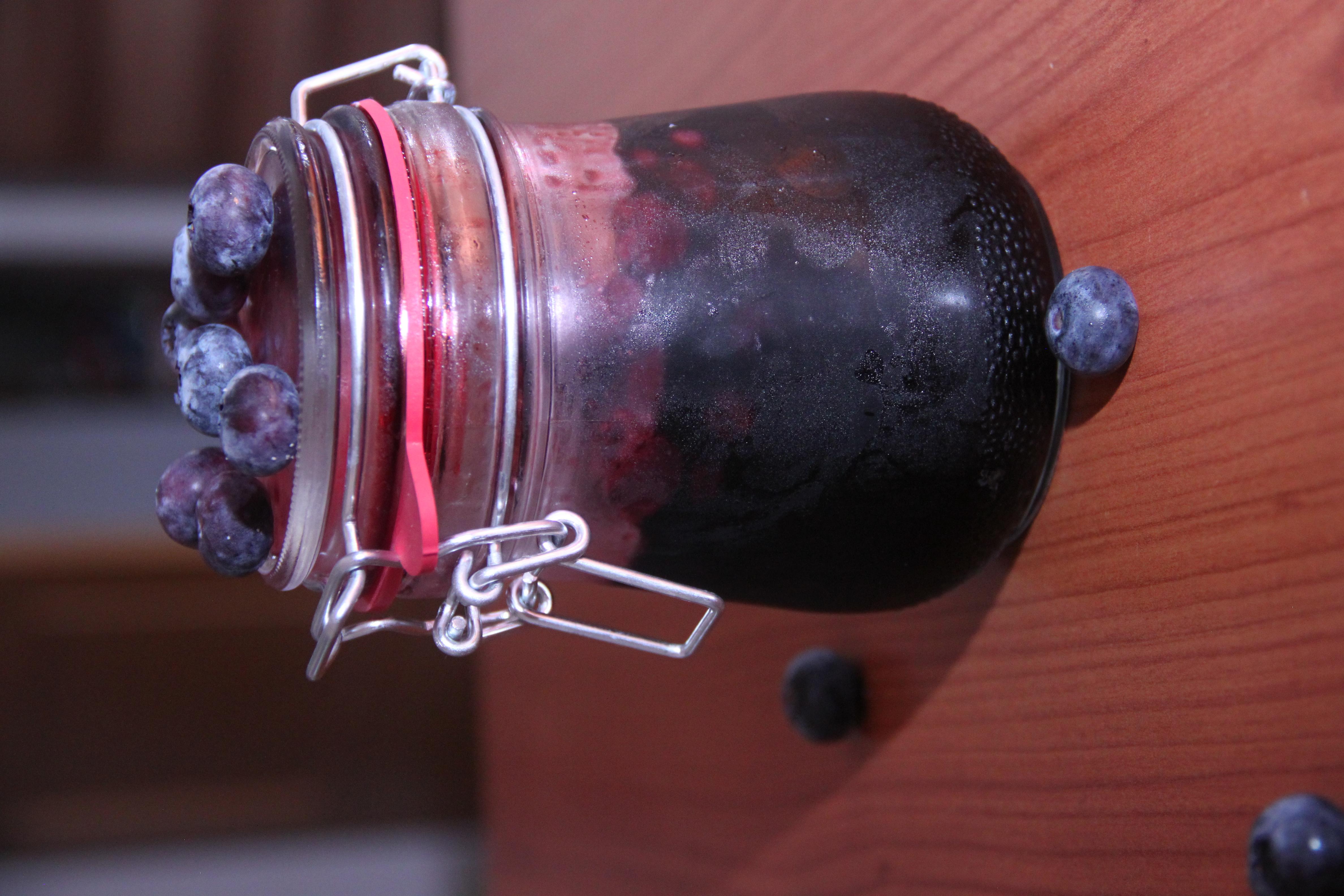 Domácí borůvková marmeláda