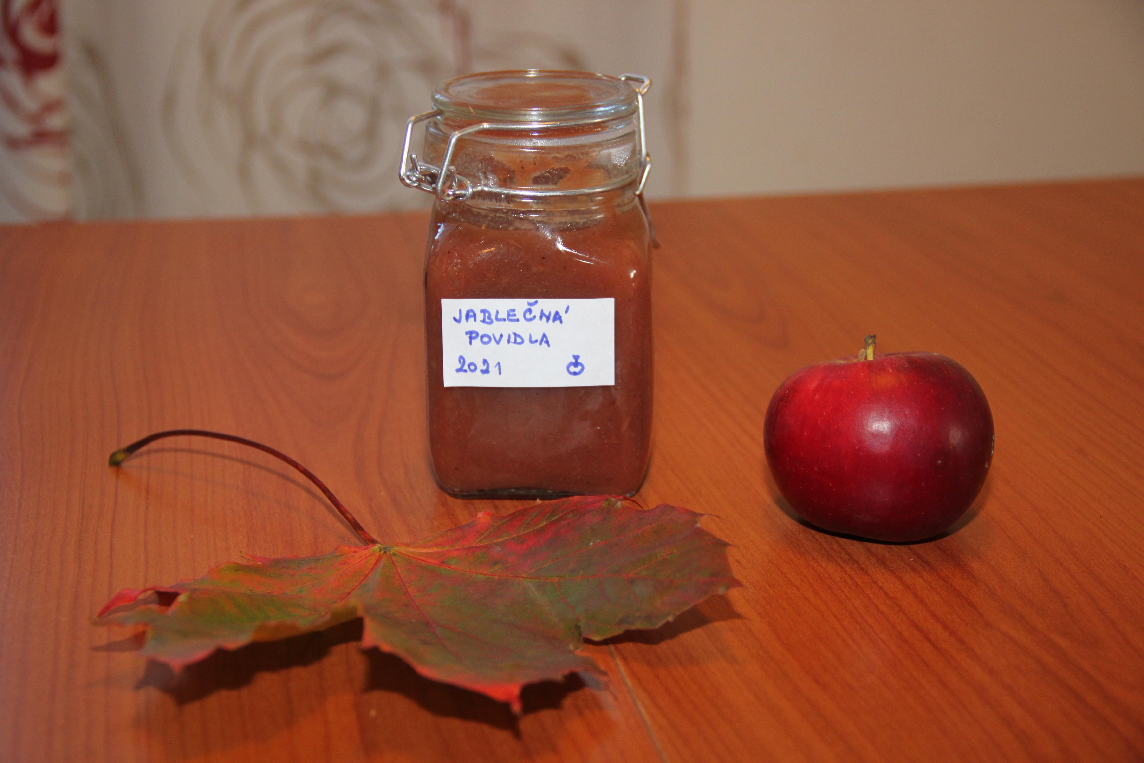 Pečená jablečná povidla - snadná příprava a výborný voňavý výsledek