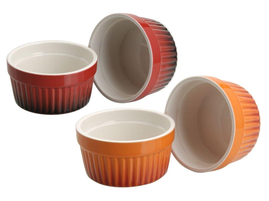1223 miska 185ml 2ks 2bar zapek muffiny d9x5cm porcelan